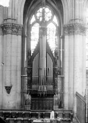 Cathédrale Notre-Dame - Buffet d'orgue