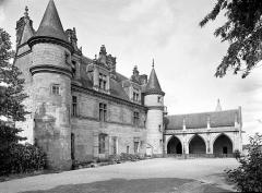 Château - Aile Louis XII et galerie en retour, côté sud-est