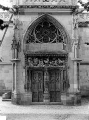 Château - Chapelle Saint-Hubert : Portail d'entrée