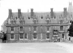 Château de Blois - Aile Louis XII : Façade extérieure