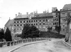 Château de Blois - Aile François Ier, côté extérieur : Vue d'ensemble