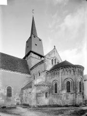 Collégiale Saint-Germain - Abside et clocher, côté sud-est