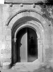 Eglise Saint-Pierre et Saint-Paul - Portail de la façade ouest