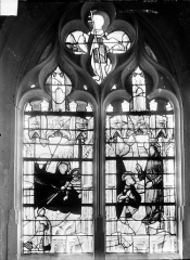 Eglise Saint-Pierre et Saint-Paul - Vitrail du choeur : La Vocation de saint Pierre