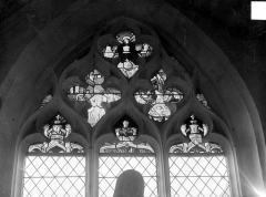 Eglise Saint-Pierre et Saint-Paul - Vitrail du transept nord : Le Jugement dernier