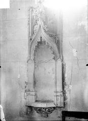 Eglise Saint-Pierre et Saint-Paul - Piscine baptismale du transept sud