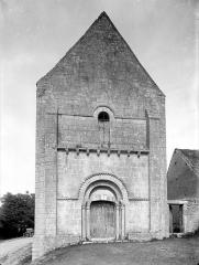 Eglise Saint-Denis de Condé - Façade ouest