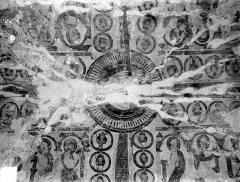 Eglise Saint-Martin - Peintures murales de la voûte du choeur
