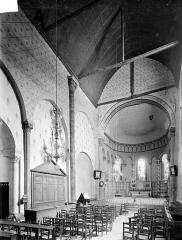 Eglise Saint-Michel (du prieuré Saint-Michel) - Vue intérieure du choeur vers le nord-est