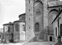 Basilique Saint-Julien - Abside, côté nord