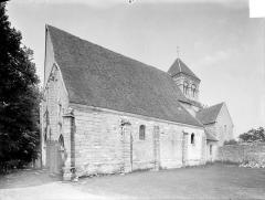 Eglise de Puy-Ferrand - Vue d'ensemble sud-ouest