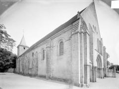 Ancienne abbaye Saint-Pierre, actuellement Centre Hospitalier spécialisé - Vue d'ensemble nord-ouest
