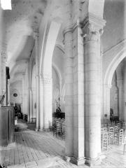 Ancienne abbaye Saint-Pierre, actuellement Centre Hospitalier spécialisé - Bas-côté nord et nef