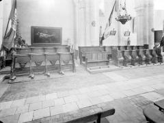 Ancienne abbaye Saint-Pierre, actuellement Centre Hospitalier spécialisé - Stalles, côté sud