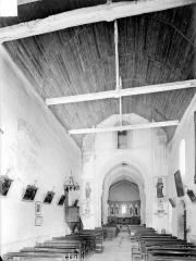 Eglise Saint-Maurice - Nef, vue depuis l'entrée