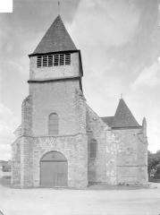 Eglise Saint-Etienne (collégiale) - Façade ouest