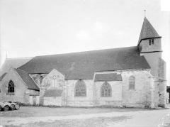 Eglise Saint-Etienne (collégiale) - Façade nord