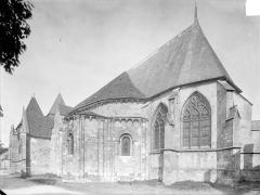 Eglise Saint-Etienne (collégiale) - Vue d'ensemble sud-est