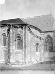 Eglise Saint-Etienne (collégiale) - Abside au sud