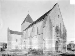 Eglise Saint-Martin - Vue d'ensemble nord-ouest