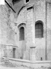 Eglise collégiale Saint-Martin - Abside, détail
