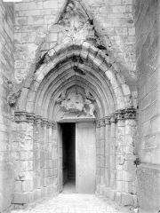 Eglise collégiale Saint-Martin - Portail ouest