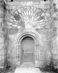 Eglise collégiale Saint-Martin - Portail sud