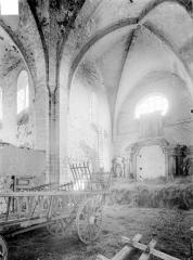 Abbaye Notre-Dame de Fontmorigny - Choeur et transept
