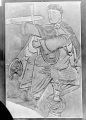 Eglise Saint-Léger - Peinture murale d'après le relevé d'Yperman