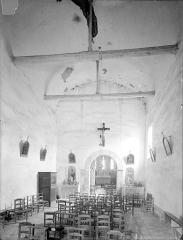 Eglise Saint-Georges - Vue intérieure de la nef vers le choeur