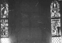 Eglise Saint-Georges - Vitraux : Christ en majesté et Calvaire et Scènes de la vie de saint Georges