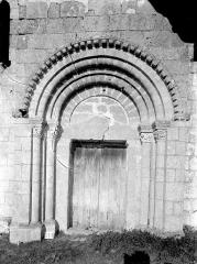 Eglise Saint-Paul - Portail de la façade ouest