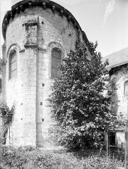 Eglise Saint-Hilaire - Abside, côté nord-est