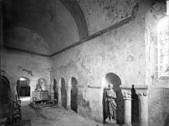 Eglise Saint-Pierre - Vue intérieure de l'oratoire rectangulaire situé au nord du choeur