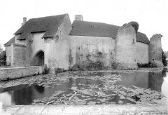 Ruines du château - Ensemble ouest