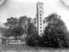 Ruines du château - Ensemble sud-est