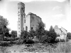 Ruines du château - Ensemble nord-est