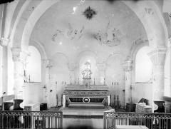 Eglise Saint-Laurent - Vue intérieure du choeur