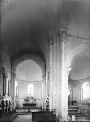 Eglise Saint-Jacques-et-Saint-Cyr - Vue intérieure du bas-côté nord, vers l'est