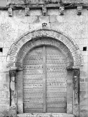 Eglise Saint-Martin - Portail de la façade ouest