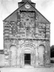 Eglise paroissiale Saint-Germain, autrefois Saint-Gervais et Saint-Protais - Façade ouest