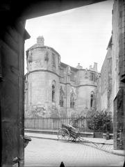 Ancien Palais des Comtes de Poitiers - Tour Maubergeon : façade est
