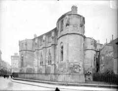 Ancien Palais des Comtes de Poitiers - Tour Maubergeon : ensemble sud-est
