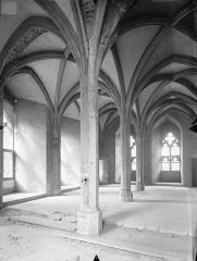 Ancien Palais des Comtes de Poitiers - Tour Maubergeon : salle gothique