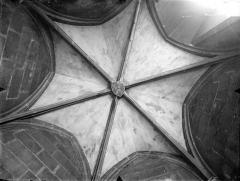 Ancien Palais des Comtes de Poitiers - Tour Maubergeon : voûte d'une tourelle