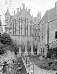 Ancien Palais des Comtes de Poitiers - Grand pignon de la salle des Pas perdus