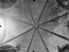 Eglise Sainte-Radegonde - Voûte de la sacristie