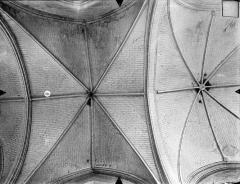 Eglise Sainte-Radegonde - Voûtes de la nef