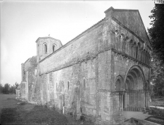 Collège de Poitiers  , actuellement lycée Henri IV - Chapelle : ensemble nord-ouest