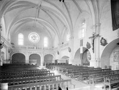 Collège de Poitiers  , actuellement lycée Henri IV - Chapelle : Vue intérieure de la nef vers le nord-ouest